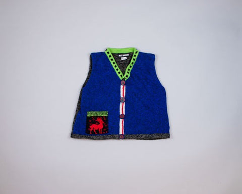 Teeny Vest-Small Christmas Sweater