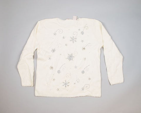 Best Snowflakes Ever-Large Christmas Sweater