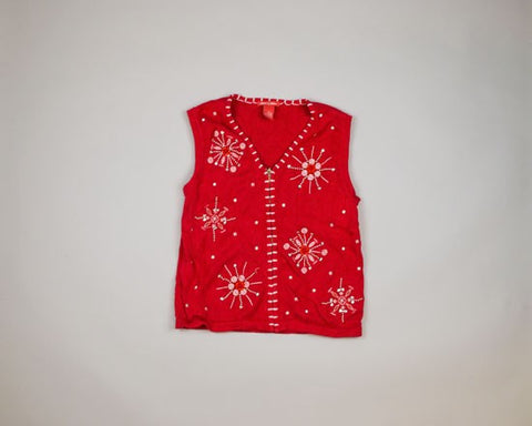 Candy Snowflakes-X Small Christmas Sweater