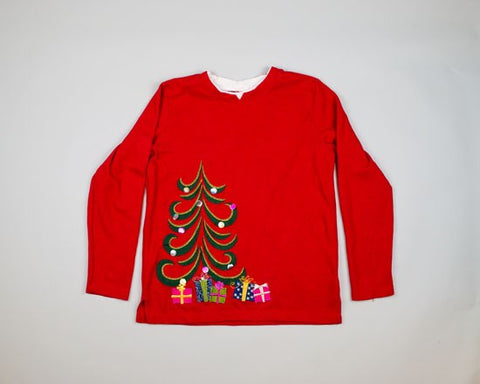 Very Ugly Tree-Small Christmas Sweater