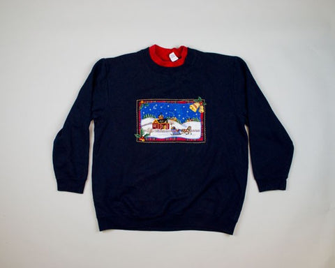 Oh What Fun It Is-Large Christmas Sweater