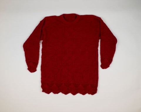 Ruby Red-Small Christmas Sweater