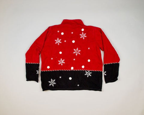 Snow!-Medium Christmas Sweater
