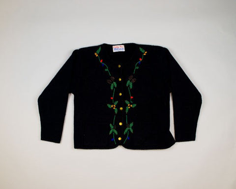 Interesting Trim-Medium Christmas Sweater