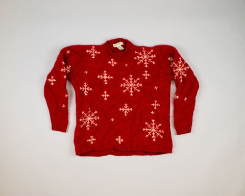 Cool Wool-Small Christmas Sweater