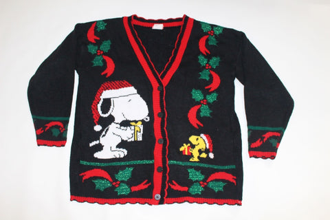 Snoopy and Woodstock , Medium,  Christmas sweater