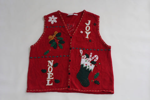 JOY to the World!  Large, Christmas sweater
