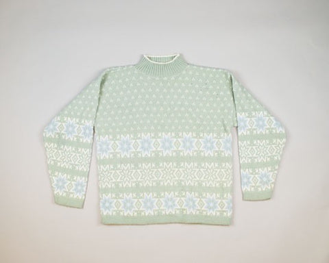 Very Light Blue Christmas-Medium Christmas Sweater