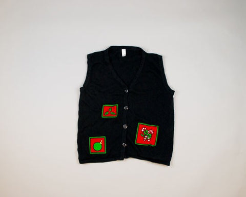 Three Images-Small Christmas Sweater