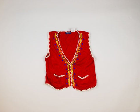 Wonderfully Beaded-Small Christmas Sweater