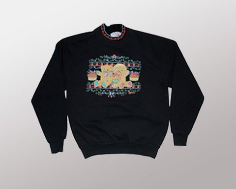 Berry Good Time (Sweatshirt)-Small Christmas Sweater