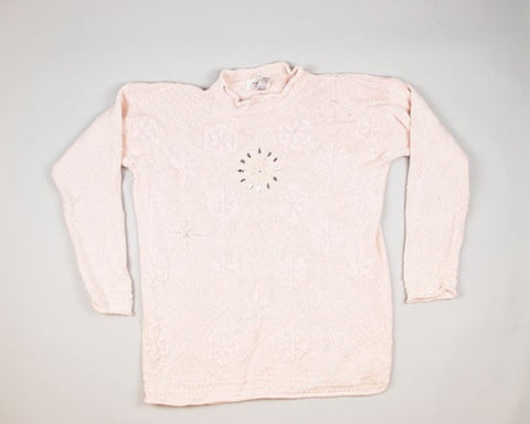 Big Light Pink-XX-Large Christmas Sweater