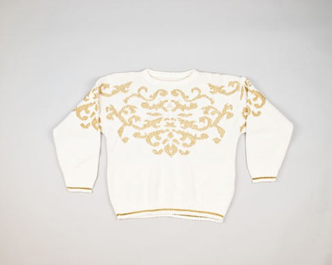 Golden Design-Small Christmas Sweater