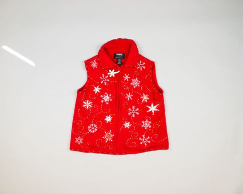 Dancing Snowflakes-Small Christmas Sweater