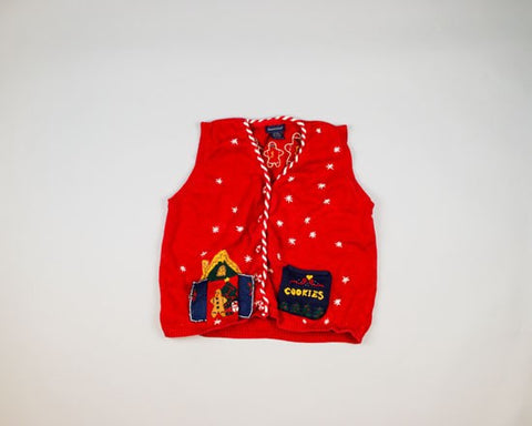 Hello, Gingerbread Man-Small Christmas Sweater