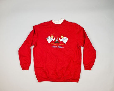 Silent Night-Medium Christmas Sweater