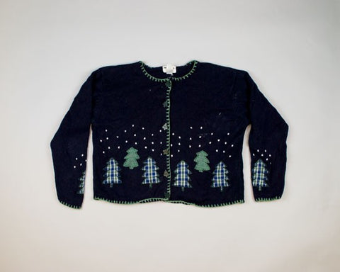 Trees, Trees, Trees-Large Christmas Sweater