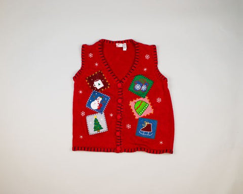 Six Patches-Small Christmas Sweater