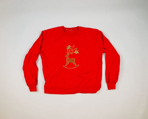 Reindeer Rocker-Medium Christmas Sweater