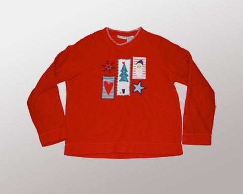 Simply Christmas-Medium Christmas Sweater