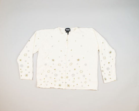 Lots Of Snowflakes-Medium Christmas Sweater