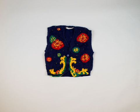 Cool Ornaments-X-Small Christmas Sweater