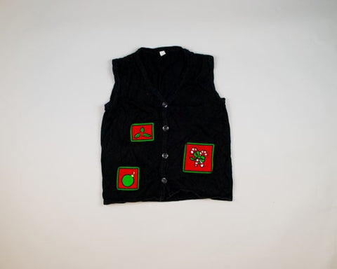 Three Simple Images-Small Christmas Sweater