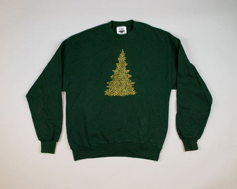 Starry Tree-Large Christmas Sweater