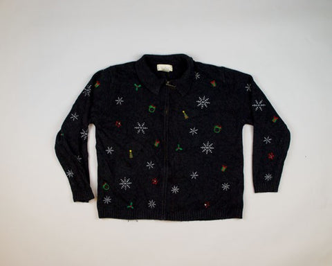 Tiny Little Decorations-Medium Christmas Sweater