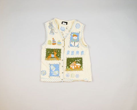 Lovely Ugly Vest-X-Small Christmas Sweater