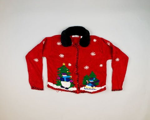 Tow Along-Small Christmas Sweater