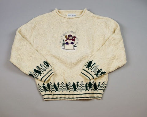Forest Wonder-Small Christmas Sweater