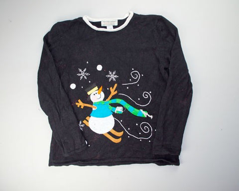 Ski Solo-Small Christmas Sweater