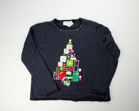 Who Needs A Tree-Small Christmas Sweater