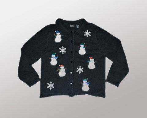 Snowman n' Pals-Small Christmas Sweater