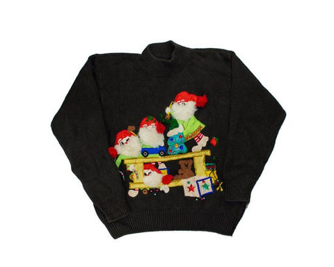 Helping Hands-X-Small Christmas Sweater