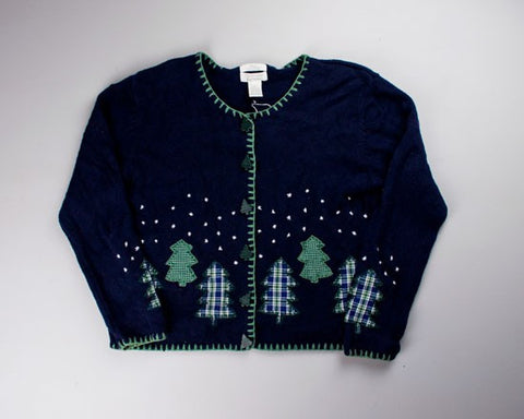 Flannel Forest-Small Christmas Sweater