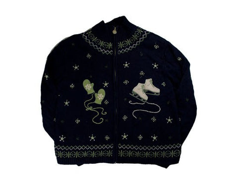 Grab Your Skates-Small Christmas Sweater