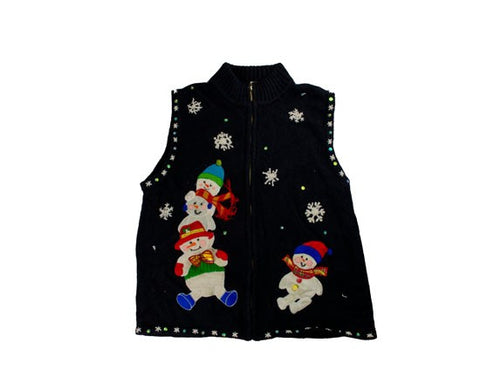 Snow Play-Small Christmas Sweater