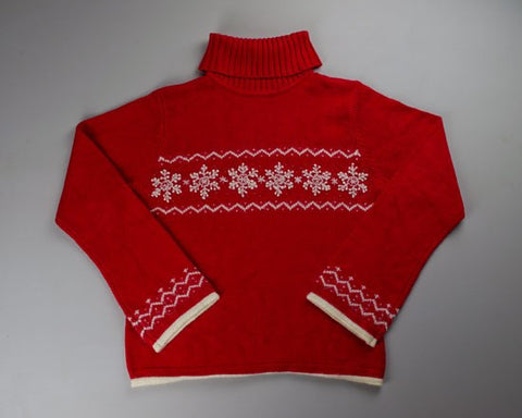 Red And White-Small Christmas Sweater