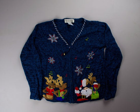 Sing A little Song-Small Christmas Sweater