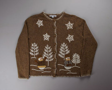 I Will Have A Beige Christmas-Small Christmas Sweater