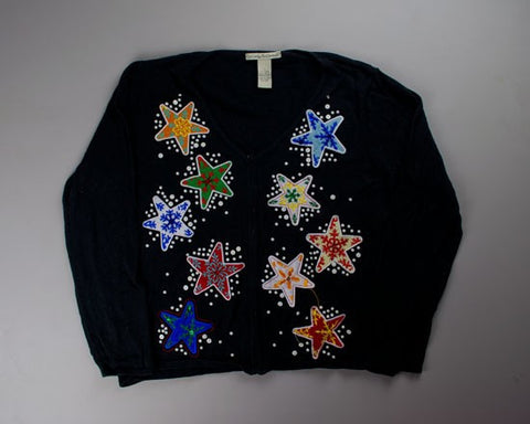 Star Burst-Small Christmas Sweater
