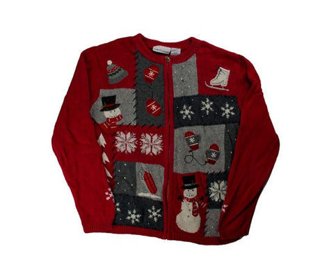 Red Holiday-Small Christmas Sweater
