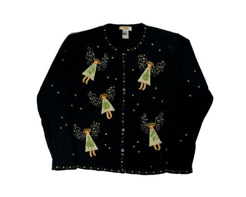 Do Your Have Your Wings?-Small Christmas Sweater