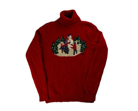 Hard Work-X-Small Christmas Sweater