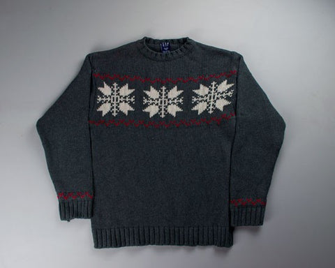 Snowflakes-X-Small Christmas Sweater