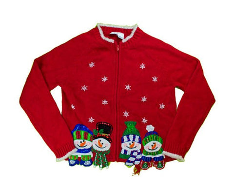 Snow Friends-Kids Christmas Sweater