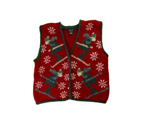 Ski On-Small Christmas Sweater