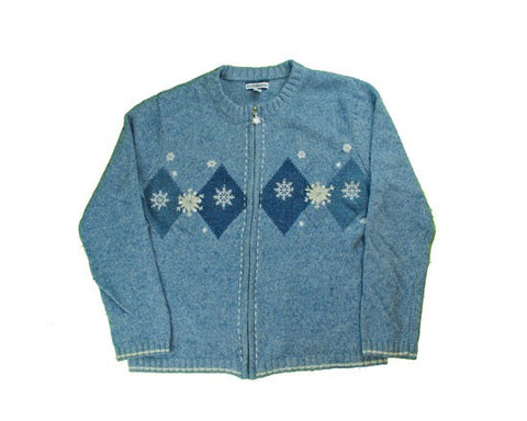 Snowflakes-Small Christmas Sweater